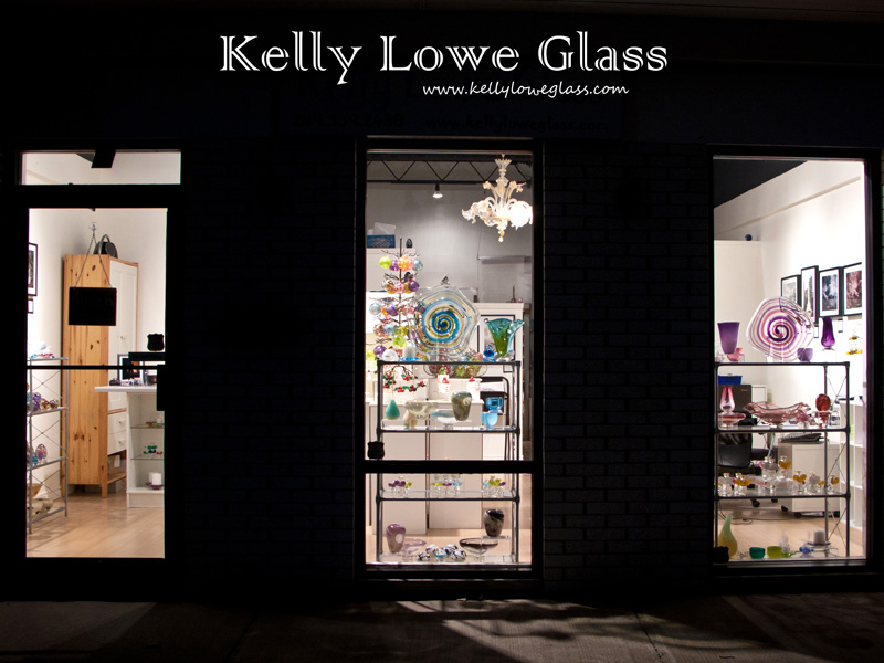 Kelly Lowe Glass Storefront